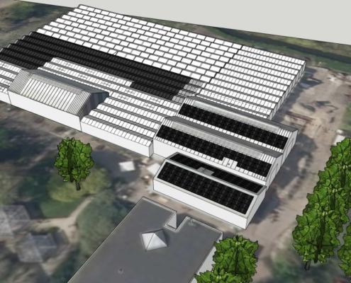 KweekZon Haarlem dak